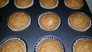 Apple - Pumpkin Muffins